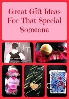 Creative Gift Ideas For That Special Someone