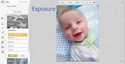 PicMonkey Exposure
