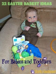 22+ Easter Basket Ideas for Babies and Toddlers