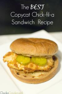The BEST Copycat Chick-fil-A Chicken Sandwich Recipe