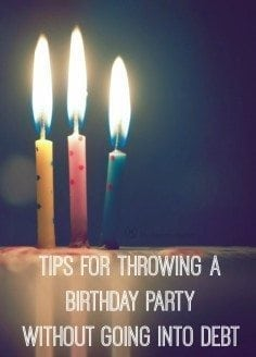 5 Ways To Throw a Birthday Party on a Budget