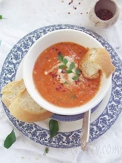 Light Tomato Coconut Soup 6 768x10241 50 Delicious Dairy Free Recipes