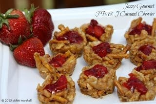 PB J Caramel Chewies1 50 Delicious Dairy Free Recipes