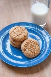 Puffy Coconut Peanut Butter Cookies For National Peanut Butter Day Via PineappleandCoconut 41 50 Delicious Dairy Free Recipes