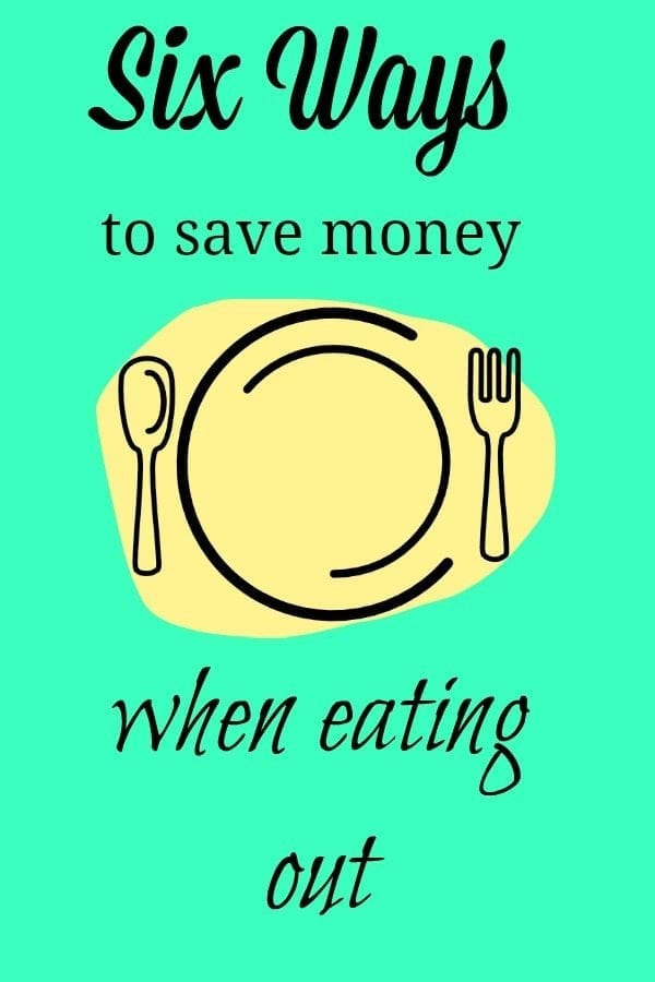 Eating out can be expensive -- however, these six tips will help make it a little more affordable!