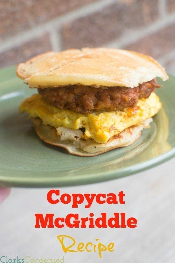 Copycat McGriddle Recipe