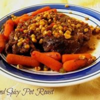 Sweet and Spicy Pot Roast