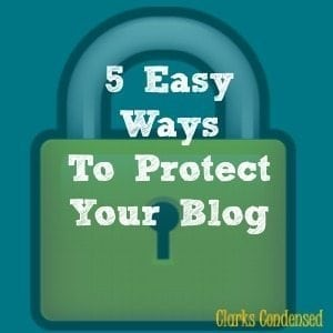 Forrest Friday: 5 Easy Ways to Protect Your Blog From Cyber Attacks