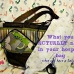 What To Pack In Hospital Bag When Having a Baby