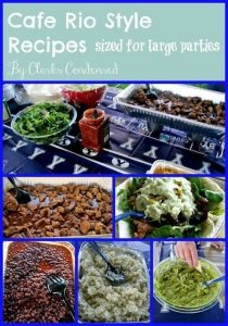 Ultimate Guide to Cafe Rio Copycat Recipes (For Large Groups)
