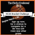 2013 NCAA Bracket Challenge ~ $15 Visa Gift Card