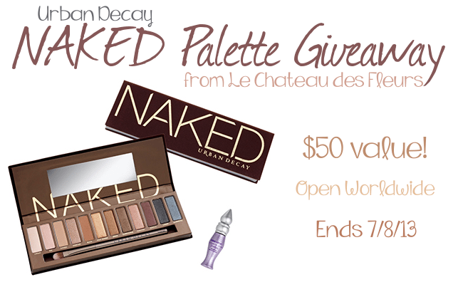 Urban Decay Naked Palette Giveaway!