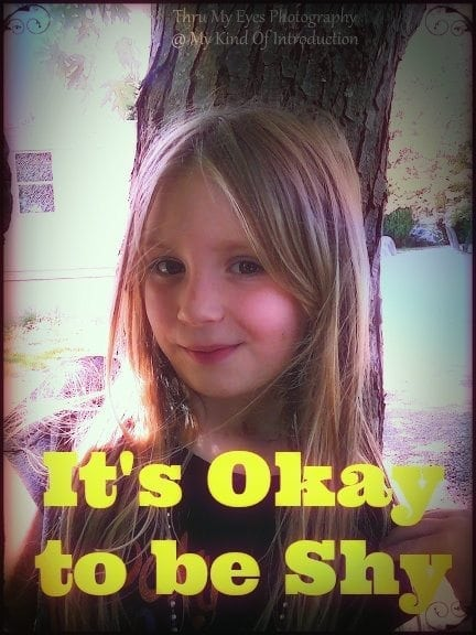 It's Okay To Be Shy: Raising a Shy Child