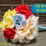Simple DIY Bridal Bouquet Tutorial