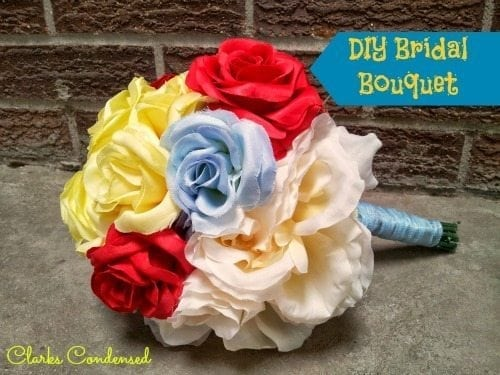 DIY Bridal Bouquet Tutorial Simple And Can Easily Be Used To Make More