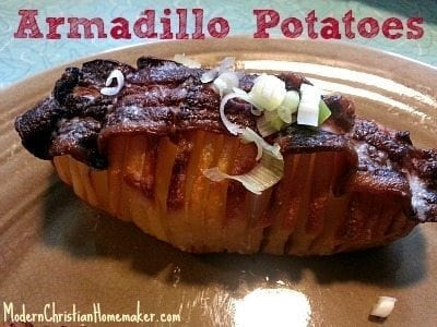 Armadillo-Potatoes