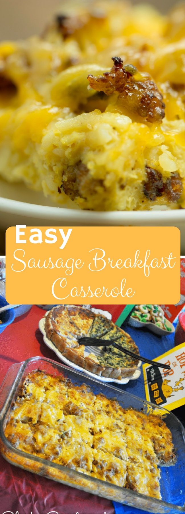 breakfast casserole / breakfast casserole recipes / breakfast casserole with hashbrowns /breakfast casserole sausage / make ahead breakfast casserole via @clarkscondensed