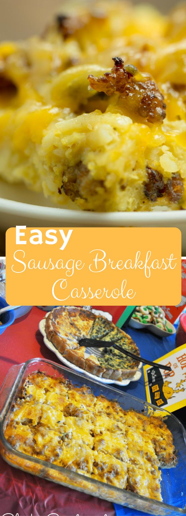 breakfast casserole / breakfast casserole recipes / breakfast casserole with hashbrowns /breakfast casserole sausage / make ahead breakfast casserole