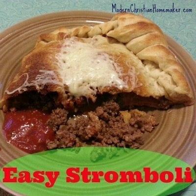 Easy-Stromboli