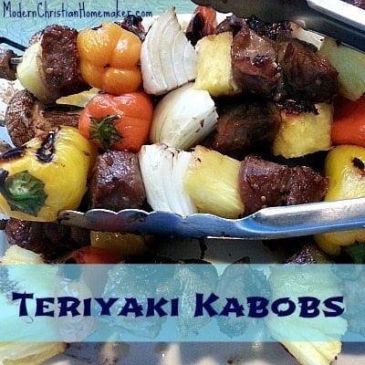 Teriyaki-Kabobs