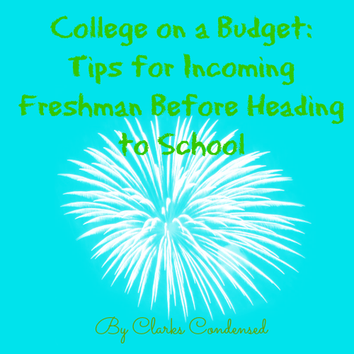 College on a Budget: Tips for Incoming Freshman Before Heading to School