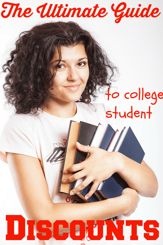 College is EXPENSIVE! Here is the ultimate guide to discounts that college students are eligible for.