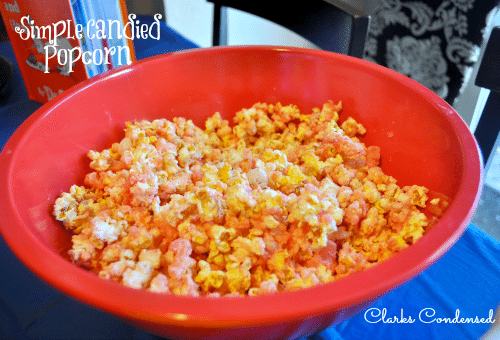 Simple Candied Popcorn