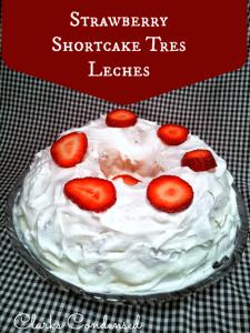Strawberry Shortcake Bundt Cake