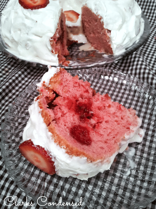 Strawberry Shortcake Tres Leches Bundt Cake