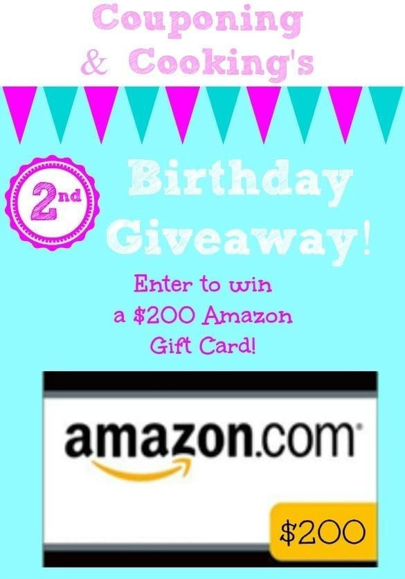 Amazon.com $200 Gift Card Giveaway