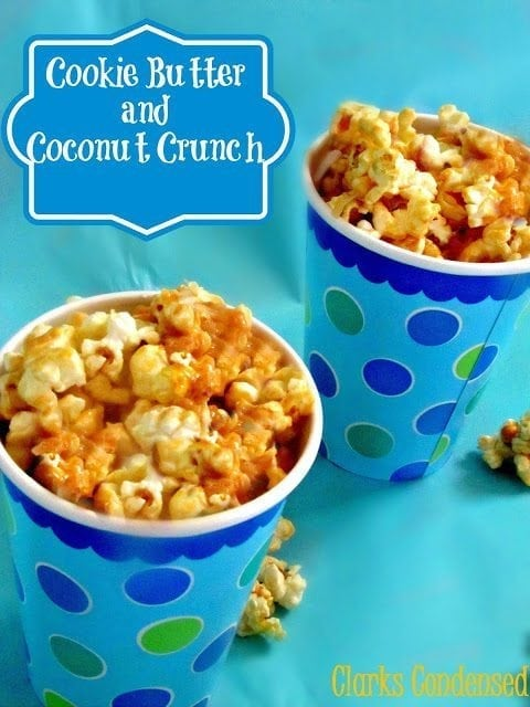Cookie Butter and Coconut Crunch