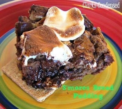 Easy S'more Bread Pudding