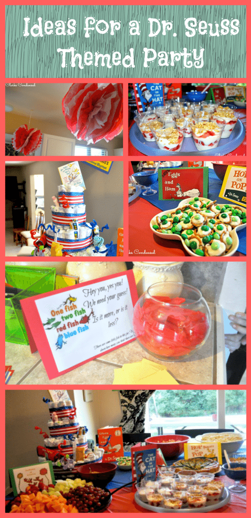 Dr Seuss Baby Shower And Party Ideas