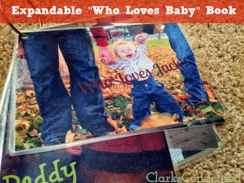 "Easy and Expandable ""Who Loves Baby"" Book"
