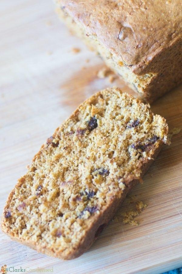 Cake Mix Pumpkin Bread