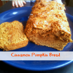 Skinny Cinnamon Pumpkin Bread (And Why I Love MyFitnessPal)