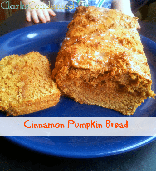 Skinny Cinnamon Pumpkin Bread (And Why I Love MyFitnessPal)