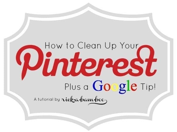 Cleaning Up Your Pinterest Boards