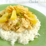 Crock Pot Chicken Hawaiian Haystacks