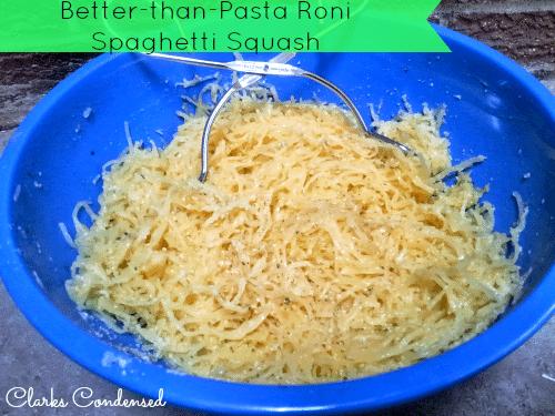 Better-Than-Pasta Roni Recipe