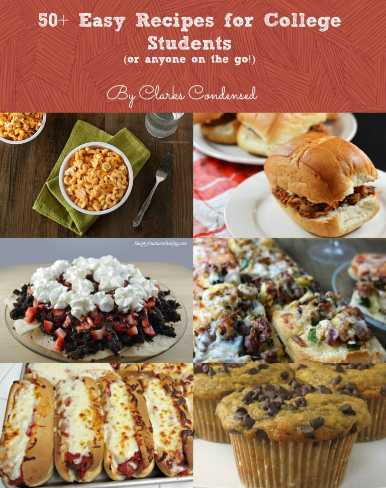 50 easy college recipes you will love easy recipes for college students forumfinder Image collections