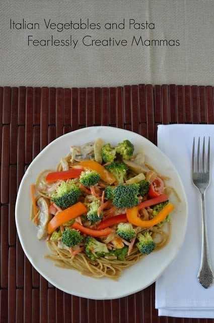 Italian Vegetables and Pasta