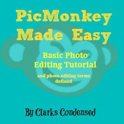 Basic Photo editing with PicMonkey