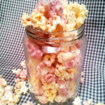 Cookie Butter and Jelly Popcorn