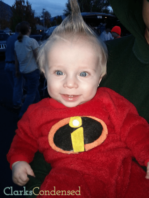 DIY Jack-Jack Incredibles Costume
