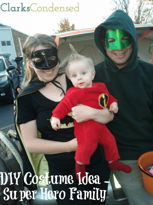super hero family costumes