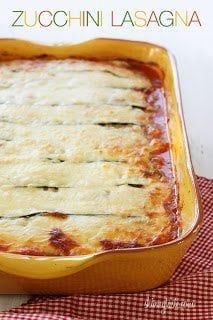 Skinnytaste Zucchini Lasagna 9 Tips For Taking a New Mom Meals