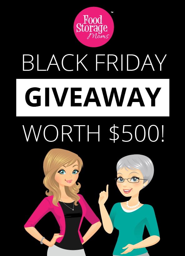 black friday gift card giveaway black friday give away hosted by food storage moms 7500