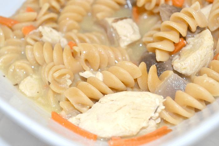 Creamy Chicken Noodle Soup - Clarks Condensed