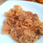 Quinoa and Sausage Stuffed Pumpkin